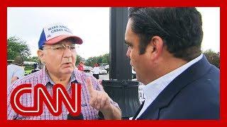 Download Trump voter's false claim surprises CNN reporter Video