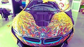 Download BMW i8 Customized Garage Italia Customs BMW i8 Futurism Edition BMW i8 Bespoke CARJAM TV HD Video