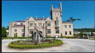 Download 13 Exploring the art, food and rooms at Lough Eske Castle Ireland Video