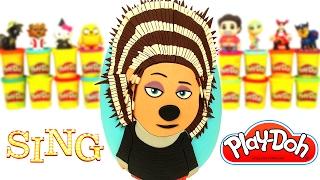 Download Huevo Sorpresa Gigante Ash de la película Sing ¡Ven y Canta! en Español de Plastilina Play Doh Video