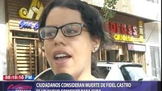 Download Ciudadanos consideran muerte de Fidel Castro es un nuevo comienzo para Cuba Video