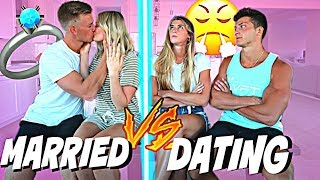 Download Dating vs. Married *Testing Our Relationship* Video