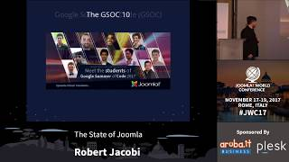 Download JWC 2017 - The State of Joomla - Robert Jacobi Video