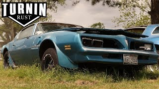 Download Abandoned 1978 Pontiac Trans Am Driven From Grave After 10 Years | Turnin Rust Video