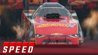 Download Courtney Force scores fourth win of the year after beating her father John | 2018 NHRA DRAG RACING Video