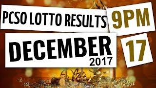Download Lotto Results Dec 17, 2017, 9PM ft. 6-58, 6-49, Swertres & Ez2 Video