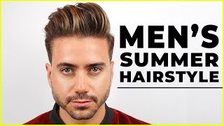 Download MEN'S SUMMER HAIRSTYLE 2018   Best Men's Haircut Highlights   ALEX COSTA Video
