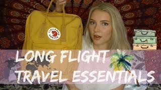 Download In - Flight Travel Essentials - What's In My Carry On? Video