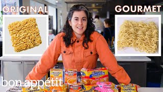 Download Pastry Chef Attempts to Make Gourmet Instant Ramen | Gourmet Makes | Bon Appétit Video