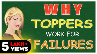 Download WHY TOPPERS WORK FOR FAILURES (HINDI) - EDUCATION SYSTEM !! Video