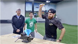 Download Crush a Diamond with a Hammer? | Dude Perfect Video