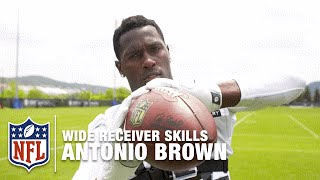 Download Antonio Brown GoPro Footage | How to Be a Great Wide Receiver | NFL Video