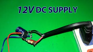 Download Transformerless 12v Supply with two Zeners Protection! Video