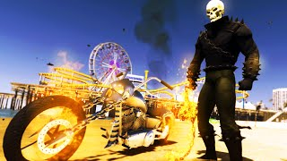 Download GTA 5 Mods - AMAZING GHOSTRIDER MOD! FIRE MOTORCYLE & FIRE WEAPONS! (GTA 5 Mods) Video