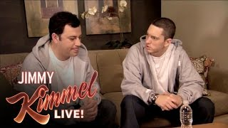 Download Briefcase Joe: Eminem Teaches Jimmy Kimmel to Rap Video