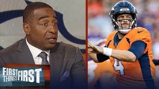 Download Cris Carter reacts to Case Keenum's debut with the Denver Broncos | NFL | FIRST THINGS FIRST Video