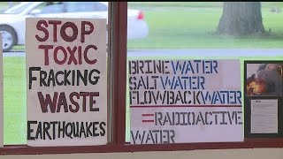 Download Brookfield residents near proposed injection well site say it's a bad idea Video