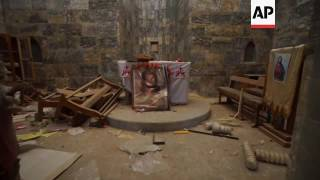 Download Displaced Iraqi Christians return to destroyed homes Video