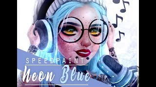 Download MSP-Speedpaint []Neon Blue[] Video