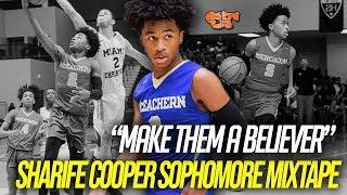 Download Sharife Cooper OFFICIAL Sophomore MIXTAPE | ″MAKE THEM A BELIEVER″ Video