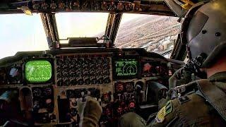 Download B-52 Bomber Landing • In-Flight Cockpit Video Video