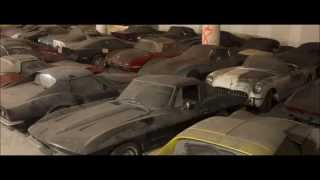 Download 36 Corvettes found in underground building! Video