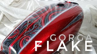Download Custom painting metal flake with gorga batak ornament Video