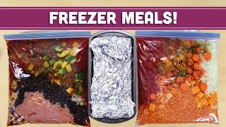 Download Freezer Meals! Easy Healthy Lunch & Dinner Recipes - Mind Over Munch Video