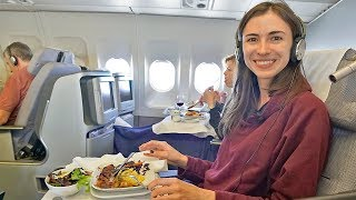 Download BUSINESS CLASS ON LUFTHANSA A-340 - WAYS TO UPGRADE Video