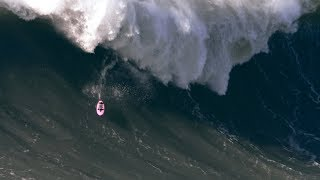 Download ″Ghost Rider″ Charges a Big Wave in Nazaré, Portugal Video