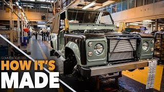 Download Land Rover Defender HOW IT'S MADE - Car Factory Assembly Line Production Manufacturing Video