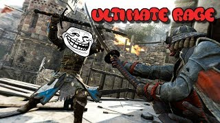 Download Extremely Salty Kid Rages During 1V1 on For Honor Video