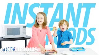 Download Kids Try 100 Years of Instant Foods | Bon Appetit Video