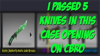 Download I PASSED 5 KNIVES IN THIS CASE OPENING l CBRO Video