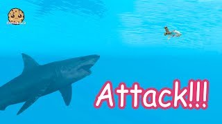 Download Shark Attack + Water Mermaids - Roblox Cookie Swirl C Game Video Video
