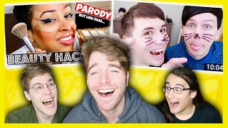 Download MAKING FUN OF YOUTUBER THUMBNAILS Video