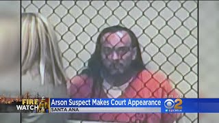 Download Arson Suspect Makes First Appearance In Court - And It's Bizarre Video