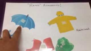 Download Rainy-season themed activities for toddlers! Video