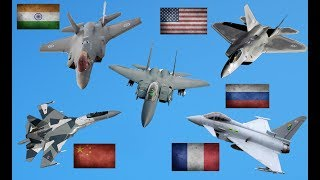 Download Top 10 Best Fighter Jets In The World Today 2019 Video