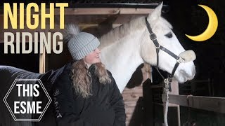 Download Riding at Night | Managing horses in the dark | This Esme Video