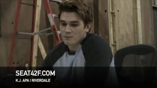 Download K.J. Apa Riverdale Set Visit Interview Video