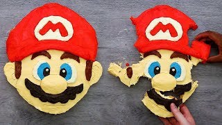 Download How To Make Super Mario Pull Apart Cupcakes   Craft Factory Video