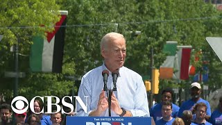 Download Joe Biden kicks off 2020 campaign with rally in Philadelphia Video