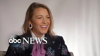 Download Blake Lively opens up about parenting and kissing Anna Kendrick in 'A Simple Favor' Video