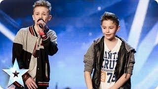 Download Bars & Melody - Simon Cowell's Golden Buzzer act | Britain's Got Talent 2014 Video