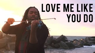 Download Ellie Goulding - Love Me Like You Do (DSharp Violin Cover) Video