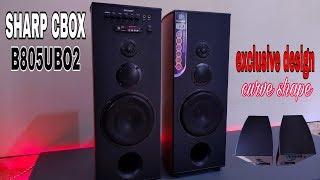 Download SHARP CBOX-B805UBO2 exclusive design CURVE SHAPE ,,Mantabz Video