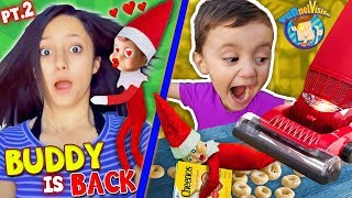 Download Our ELF on the SHELF Loves LEXI!! Buddy In a VACUUM! (FUNnel Xmas Vision Days 4-7) Video