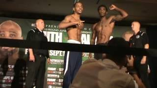 Download Maynard Allison vs Ladarius Miller Full Weigh In Video Video