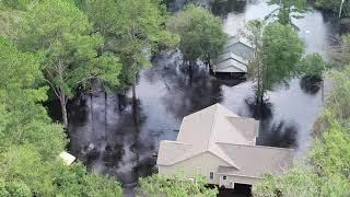 Download Pollocksville still underwater, Wilmington now dry Video